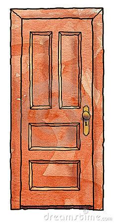 Wooden Door Stock Images.