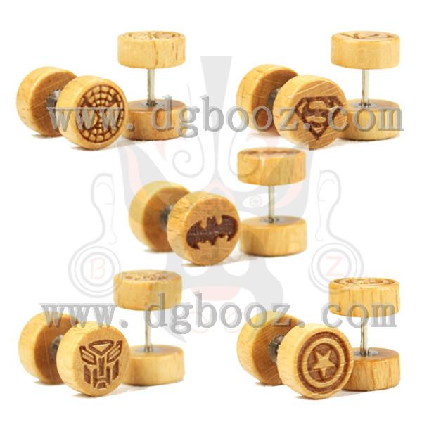Popular Wood Earring Fake.