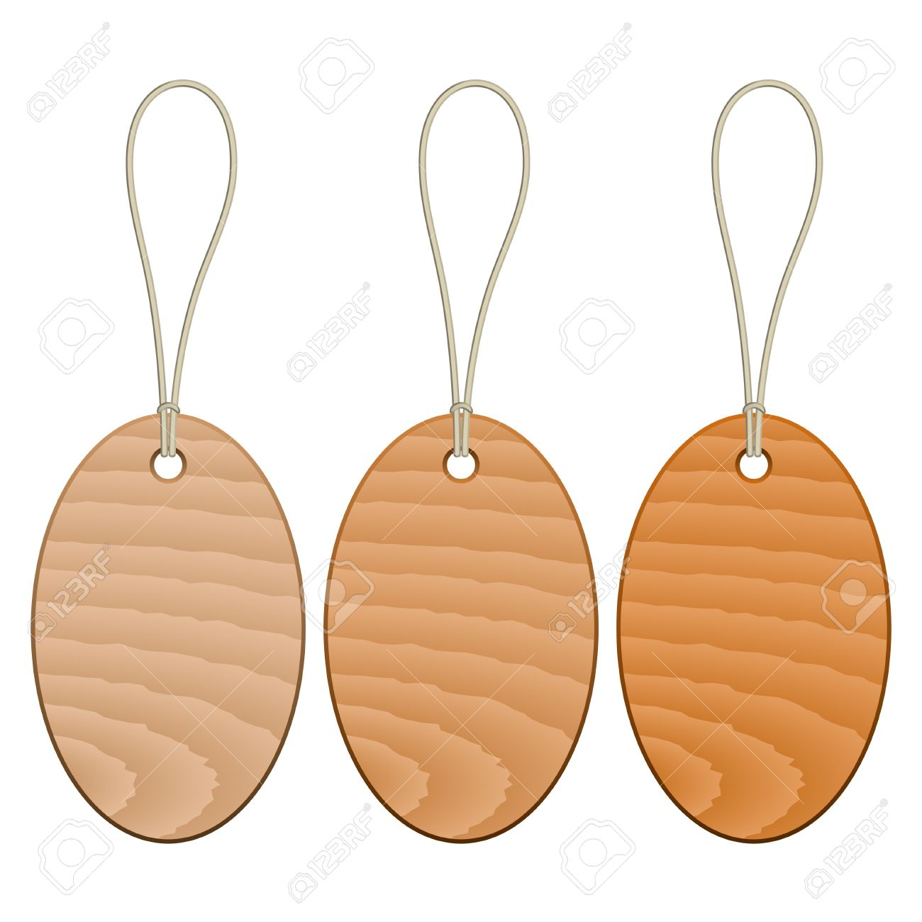 Vector Wooden Tags Royalty Free Cliparts, Vectors, And Stock.