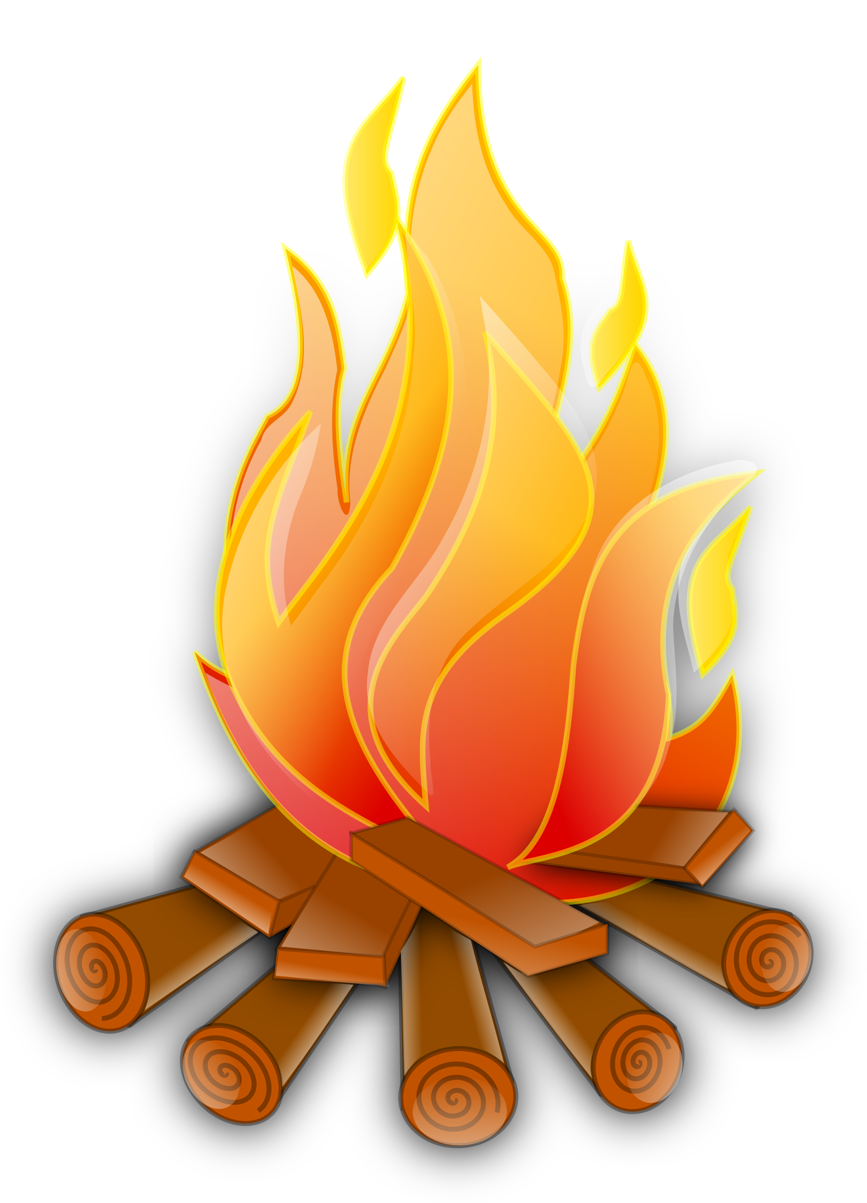 Wood Fire Clipart Clip art of Fire Clipart #769 — Clipartwork.