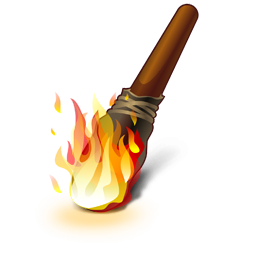 Torch fire PNG images free download.