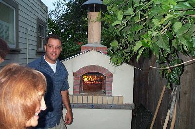 Brian's Brick Oven Folly.