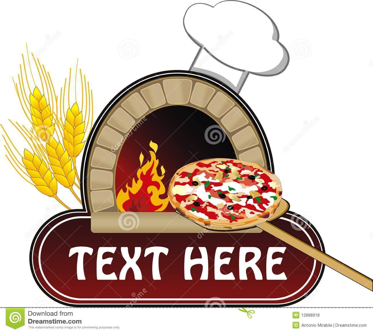 Pizza Oven Clip Art Pizza #QkOUCL.