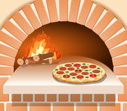Pizza Oven Stock Illustrations.
