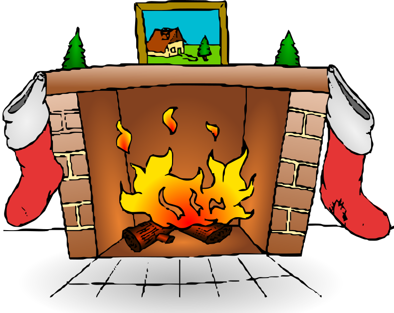 Fireplace Clip Art Download.