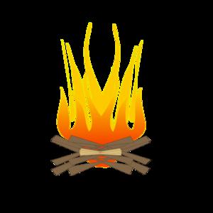 Clip Art Fire Log Clipart.