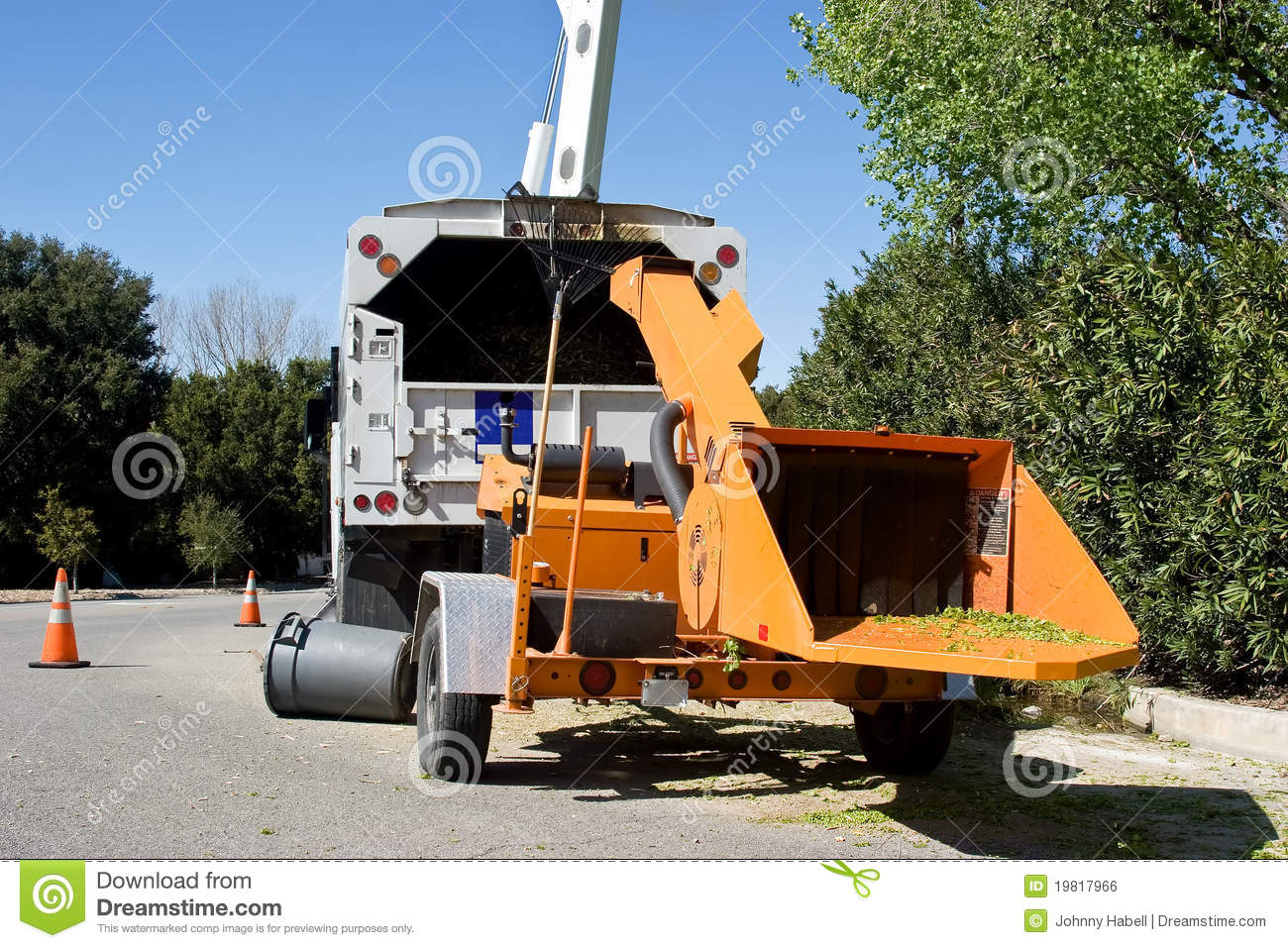 Wood Chipper Clipart.