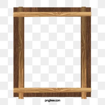 Wood Frame Png, Vector, PSD, and Clipart With Transparent Background.