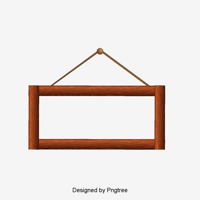 Wooden Frame PNG Images.