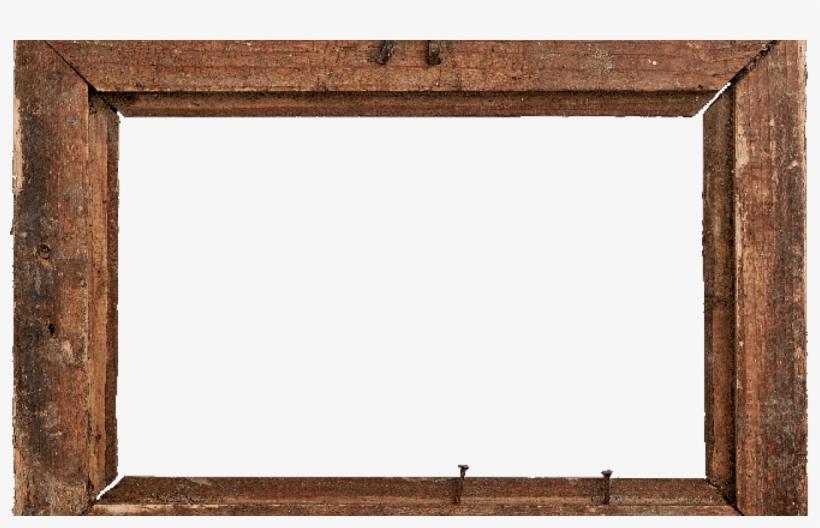 Rustic Wood Frame Png.