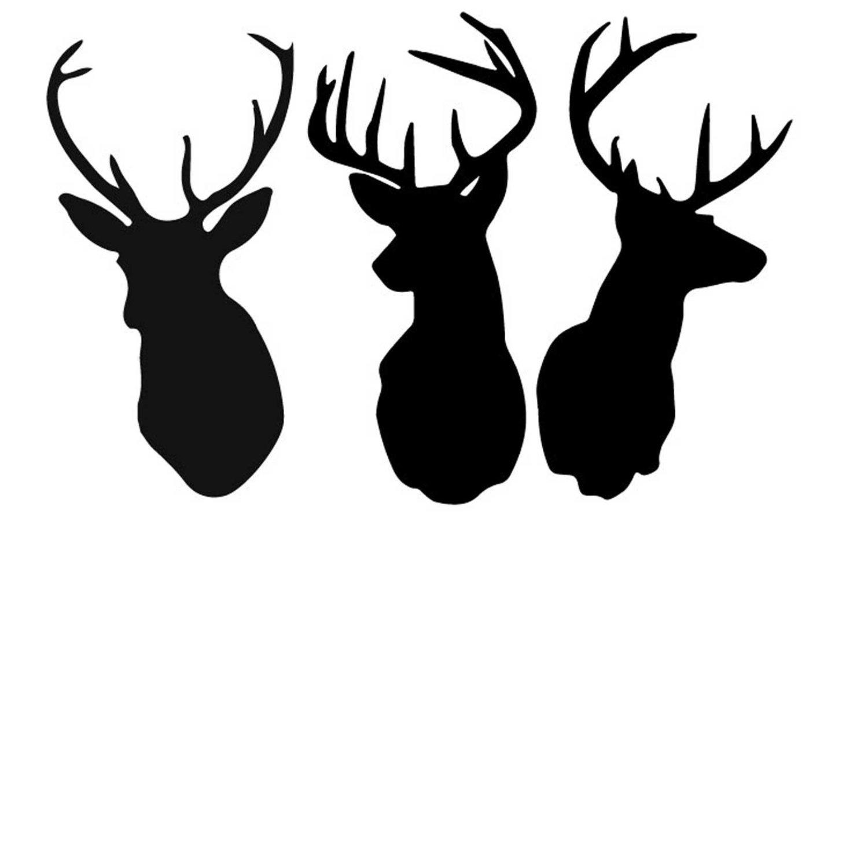 Free Deer Print Wood.