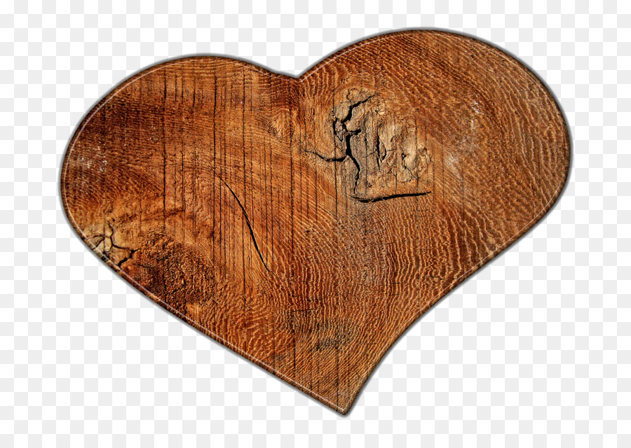 Wood Heart clipart.