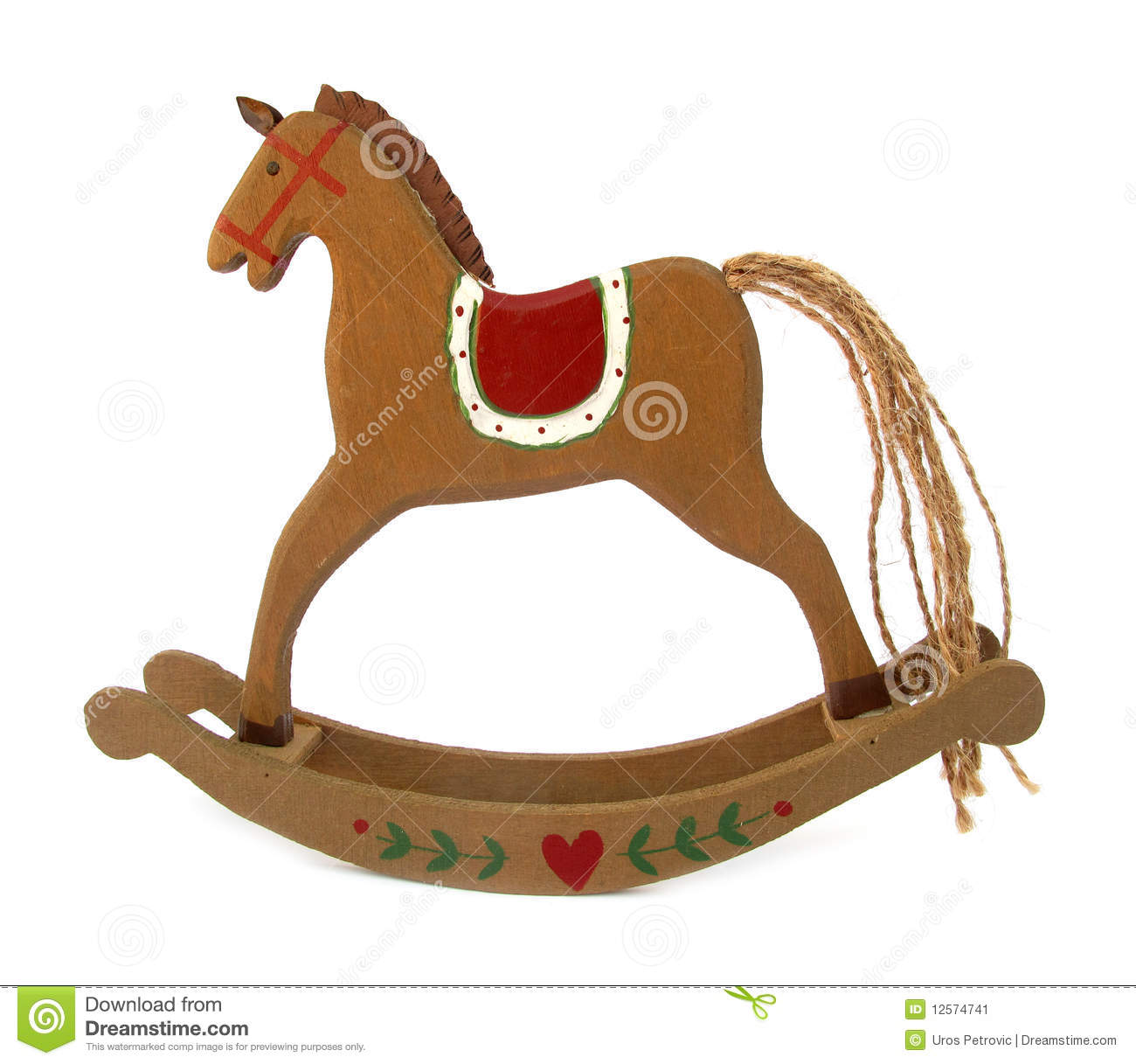 Old Toy Horse Clipart.
