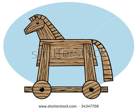 Trojan Horse Stock Photos, Royalty.