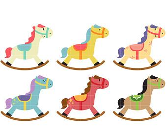 Rocking Horse Images.