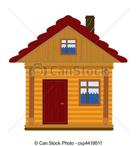 Wooden house Stock Illustrations. 48,943 Wooden house clip art.