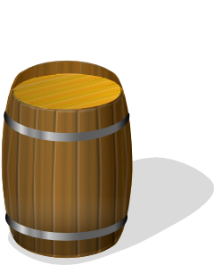 Wooden Barrel Clip Art at Clker.com.