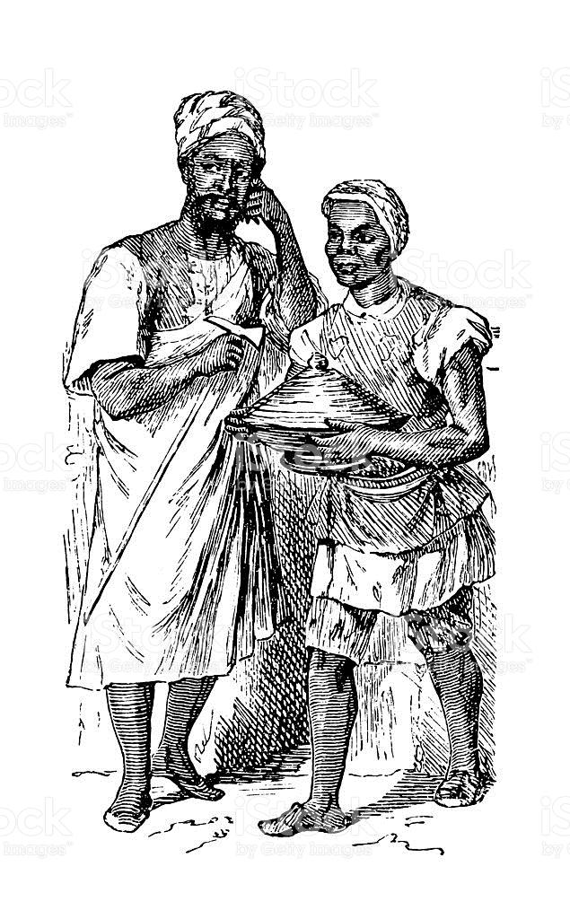 Inhabitants Of Tripoli stock vector art 180743850.