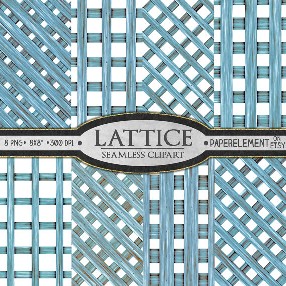 Wood Clipart: Wood Clip Art Wood Overlay Lattice by PaperElement.