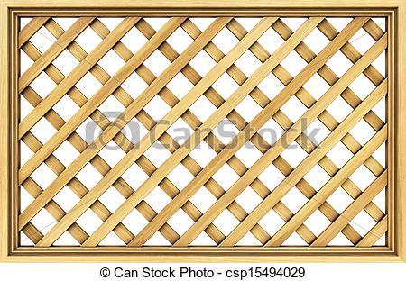 Clip Art of lattice.