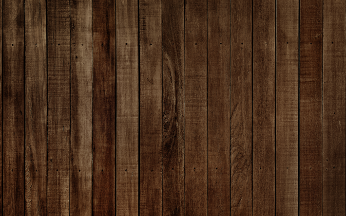Download wallpapers wooden texture, 4k, brown wood, boards, wood.