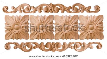 Wood Trim Stock Photos, Royalty.