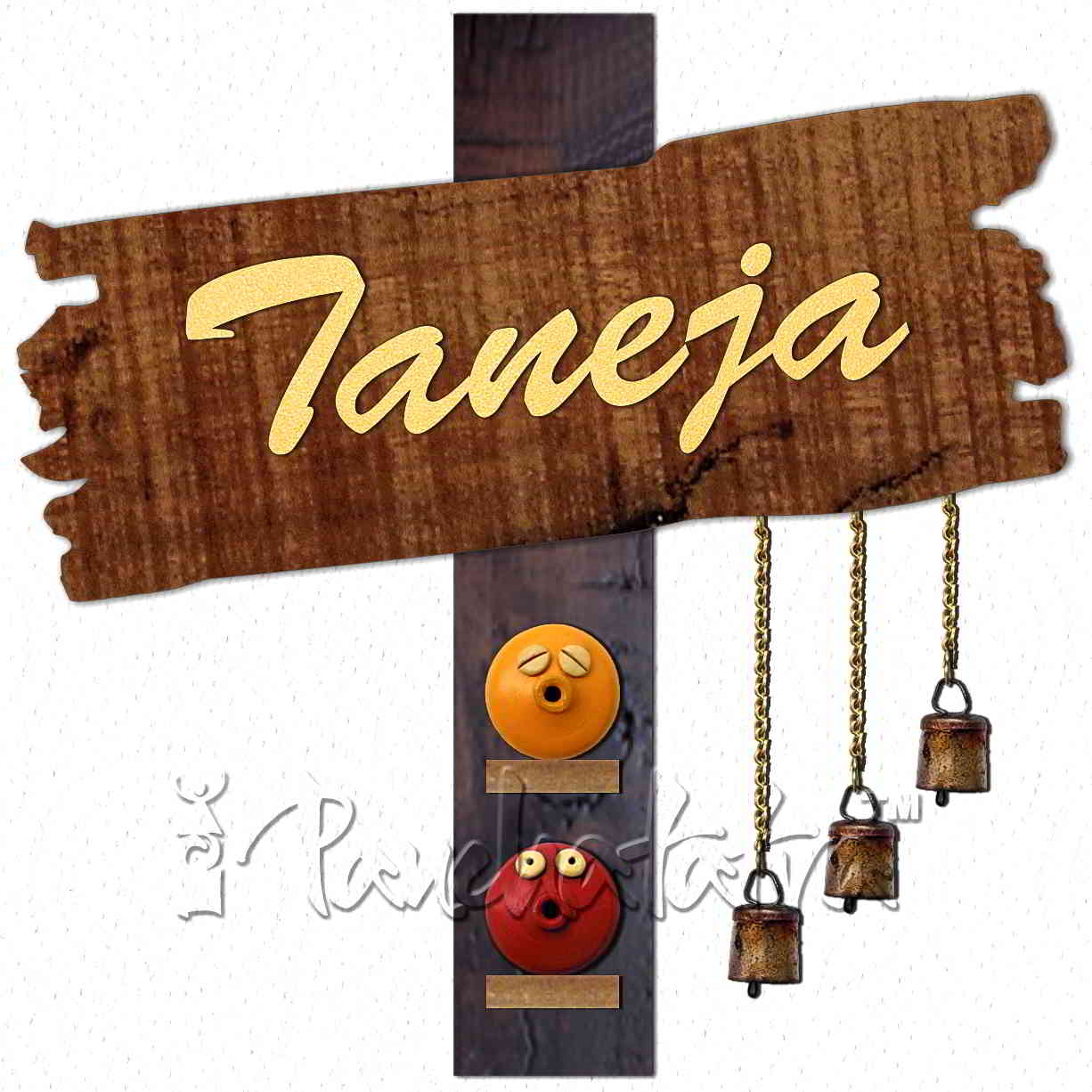 Wooden Name Plate Clipart.