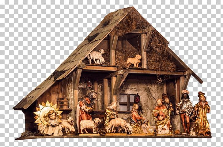 Nativity scene Bethlehem Christmas Nativity of Jesus Manger.
