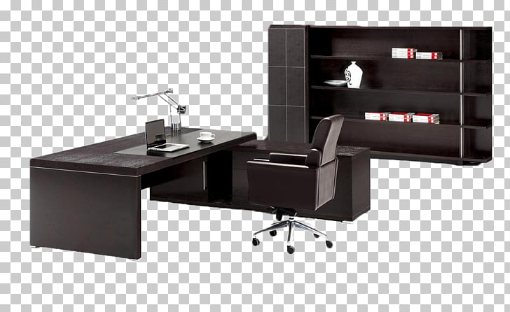 Table Desk Office Furniture, Office solid wood home PNG.