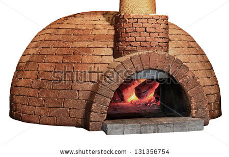 Wood Fired Oven Stock Images, Royalty.