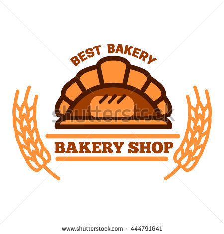 Brick Oven Bread Symbol Wood Fired Stock Vector 444791641.