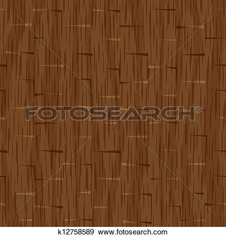 Clip Art of seamless wood panel wall texture k12758589.