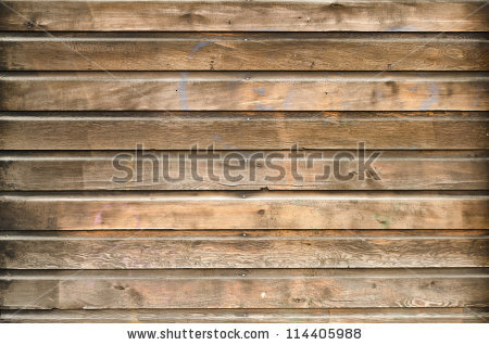 Textured clipart over paneling.