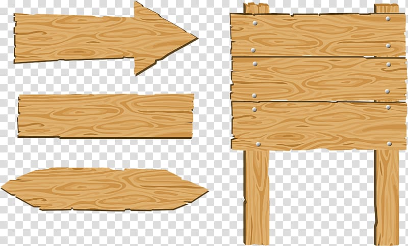 Drawing Wood , Wood sign sign transparent background PNG.