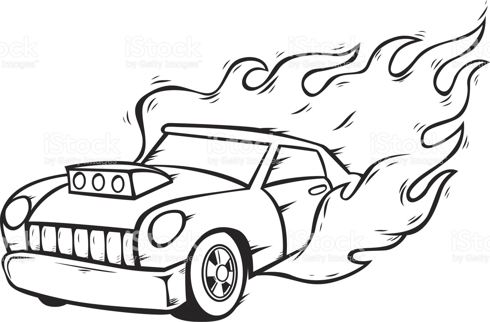 hotrod car.