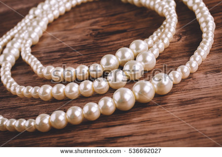 Pearl Necklace Stock Photos, Royalty.