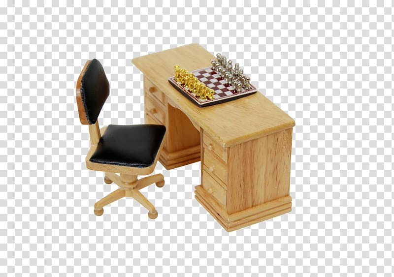 Chess piece Game, Chess pieces on an office table.