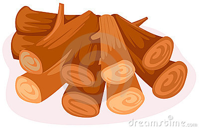Clip Art Pile Of Firewood Clipart.