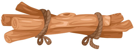 Woodpile Stock Illustrations.