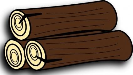 Wood Log Clip Art, de farmeral icne de bois clip arts, clipart.