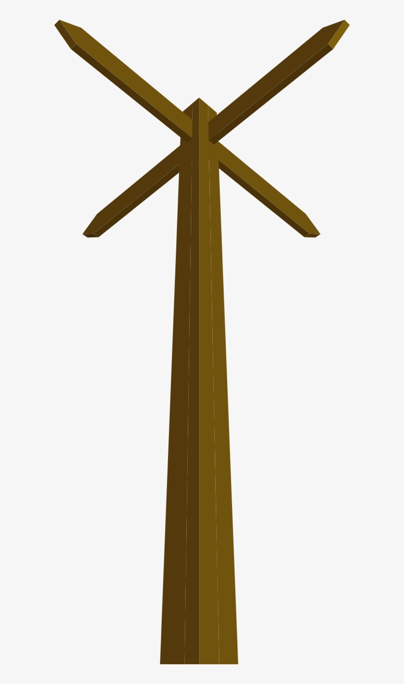 Wood Clipart Wooden Post.