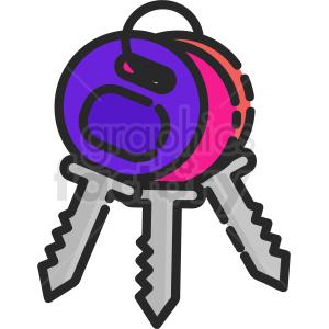keys clipart.