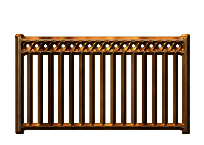 Railing Wood png by.