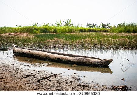 Wooden Canoe Stock Photos, Royalty.