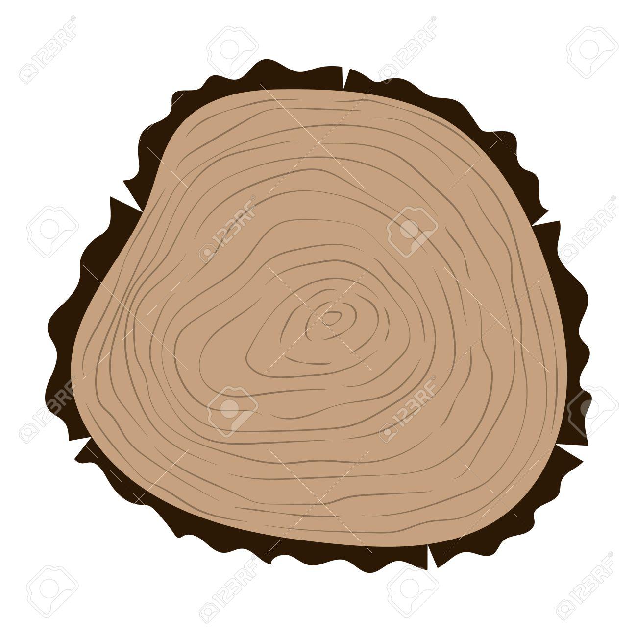 Wood Circle Clipart.