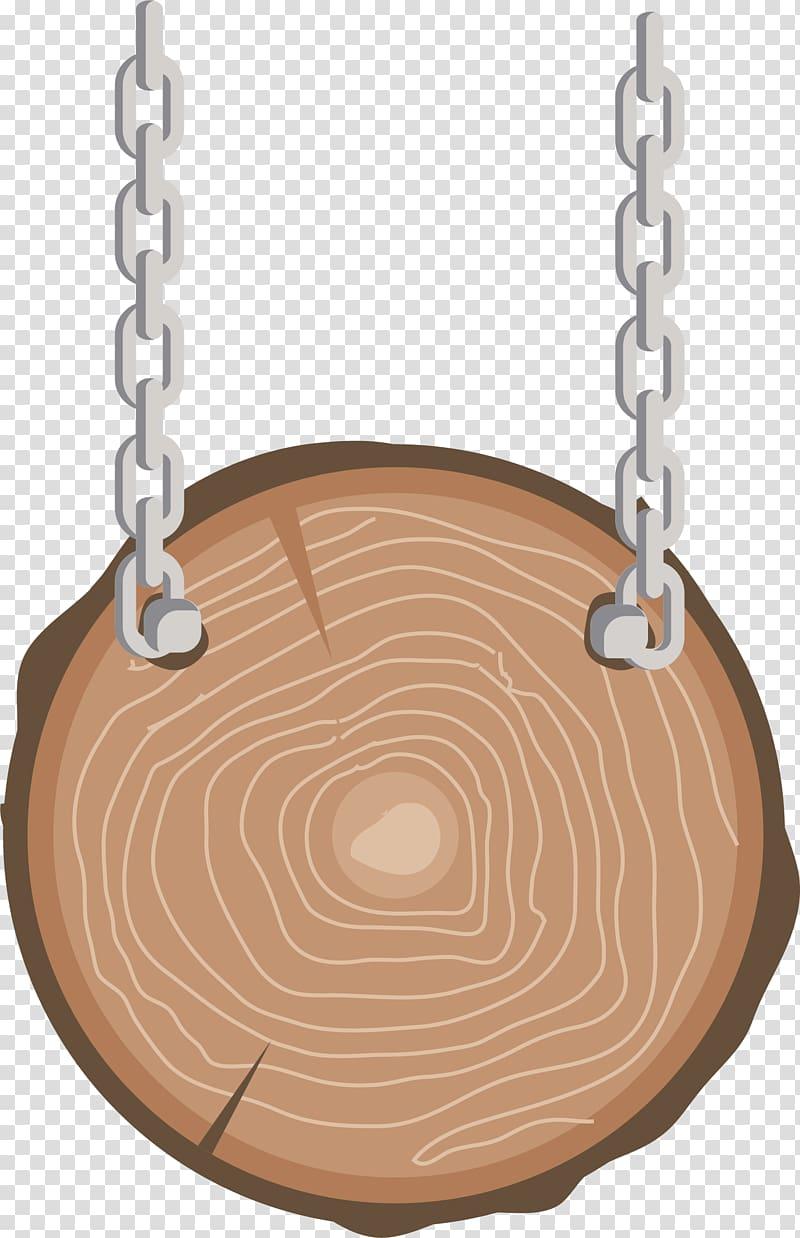 Wood Signage Computer file, Wooden round sign transparent.