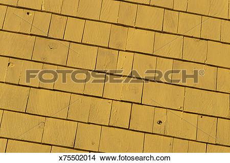 Stock Photo of Wood shingles x75502014.