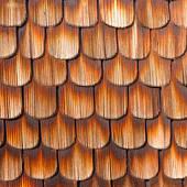 Cedar Shingles Stock Photos.