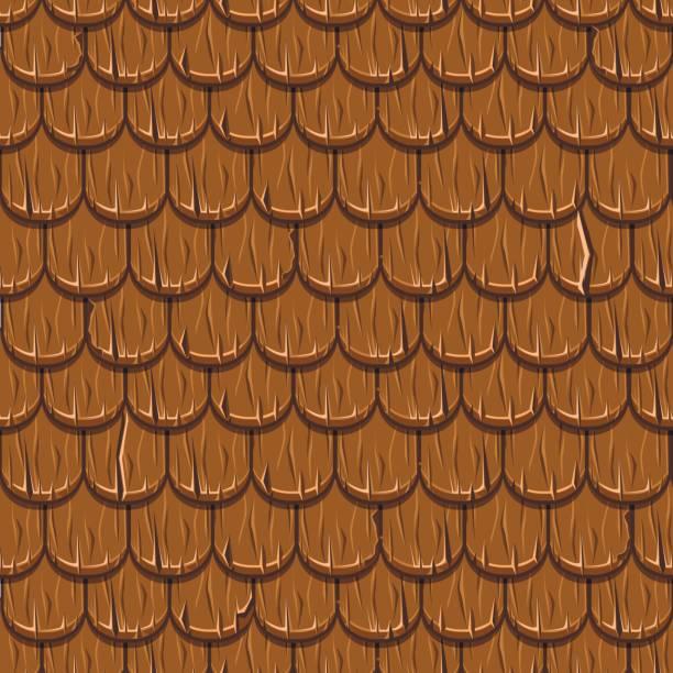 Wood Shingle Clip Art, Vector Images & Illustrations.