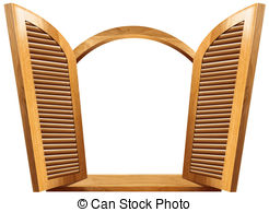 Window shutters Clipart and Stock Illustrations. 1,088 Window.